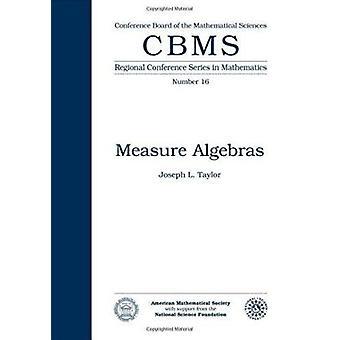 Measure Algebras by J.L. Taylor - 9780821816660 Book