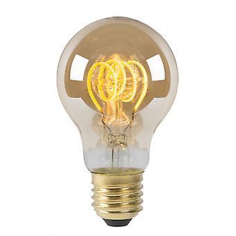 Lucide LED-lampa Vintage lampa glas Amber glödlampa