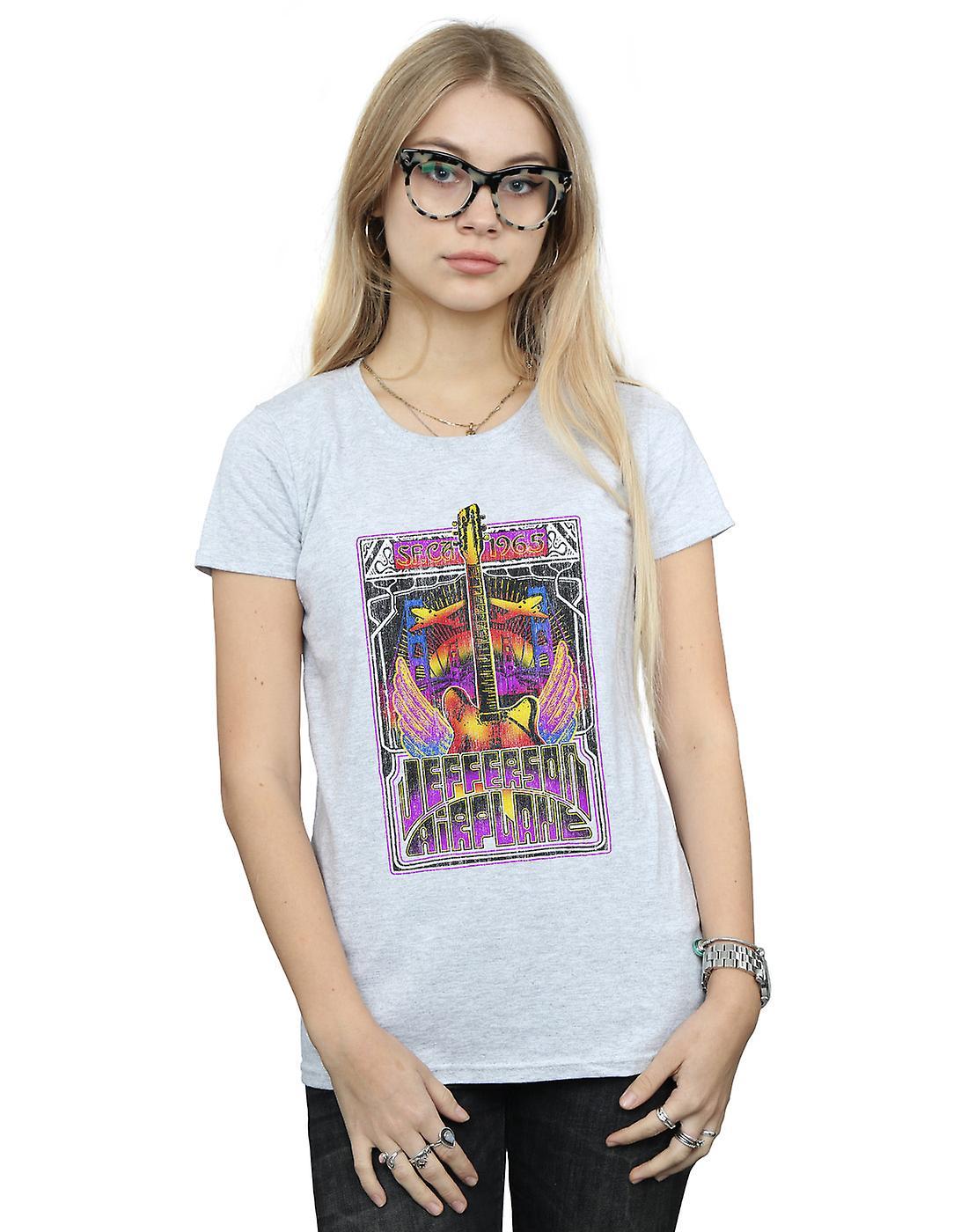 Jefferson Airplane Women's Winged Guitar T-Shirt