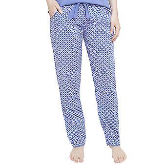 Cyberjammies 4107 kvinnors Isla blå kakel pyjamas byxa