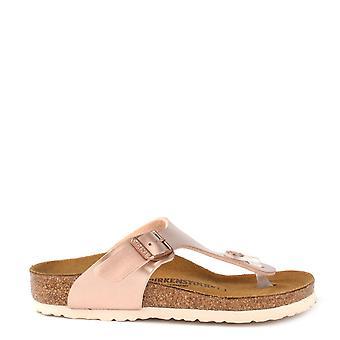 Birkenstock Kids Gizeh Metallic koper Thong Sandal