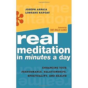 Véritable méditation en Minutes par jour: optimiser votre Performance, les relations, spiritualité et santé