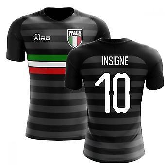 2018-2019 Italien tredje konceptet fotbollströja (Insigne 10)