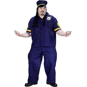 Funny Patrolman Adult Costume