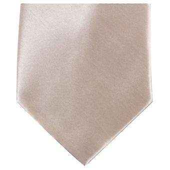 Knightsbridge Neckwear régulière cravate Polyester - Beige