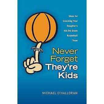 Vergessen Sie nie, Theyre Kinder Ideen für eure Töchter Coaching 4. 8. Klasse Basketball-Team von OHalloran & Michael