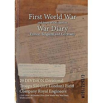 29 DIVISION Divisional Troops 510 12 London Field Company Royal Engineers  1 July 1916  28 October 1919 First World War War Diary WO9522933 by WO9522933