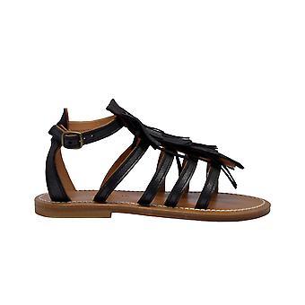 K.jacques Fregatevelamantracite Women's Grey Leather Sandals