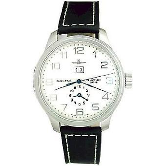 Zeno-watch mens watch OS retro + dual-time 8651-e2