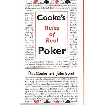 Cooke's Rules of Real Poker by Roy Cooke - John Bond - 9781886070226