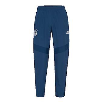 2019-2020 Bayern Munich Adidas Woven Pants (Night Marine) - Kids