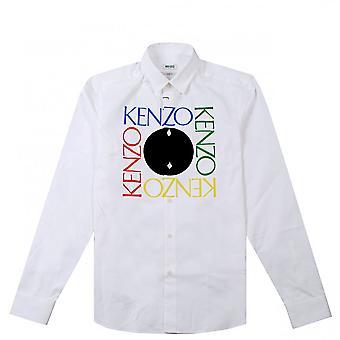 Kenzo Square logo shirt