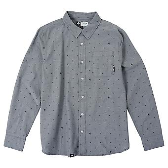 LRG RC LS Chambray kudottu Charcoal