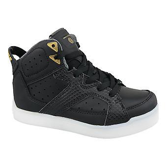 Skechers E-Pro Street Quest Lights 90615L-BLK Kinder Sneakers
