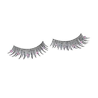 Wimpern Pearls pink
