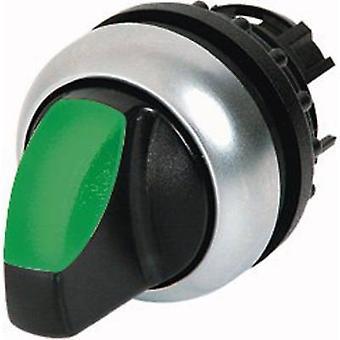 Eaton M22-WRLK3-G drukknop zwart, groen 1 PC (s)