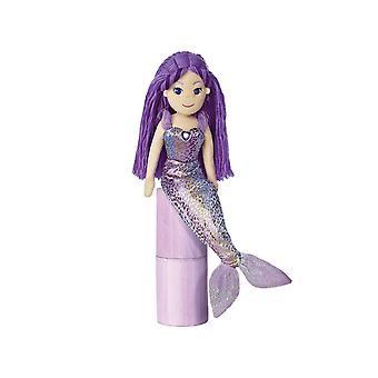 Mundo de Aurora 18 pulgadas mar destellos sirena Daphne