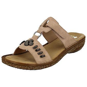 Damer Rieker Open Toe sandaler 62891