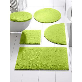 Heine hjem blødt bade tæppe bad gulv belagt grøn bunke højde 20 mm