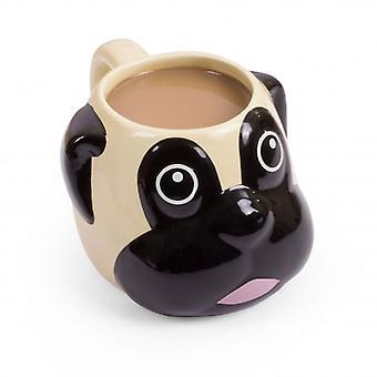 thumbsUp Pug Mug