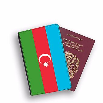 AZERBAIJAN Flag Passport Holder Style Case Cover Protective Wallet Flags design