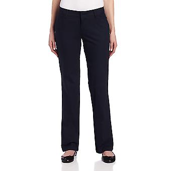Dickies Women's Relaxed Straight Stretch Twill Pant, Navy, 10, Navy, Size 10.0