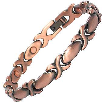 MPS® ALASYIA riche en cuivre Bracelet magnétique + liens Free Removal Tool