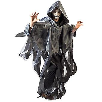 Ghosts zombi Ghoul Cape Man's Costume una taglia