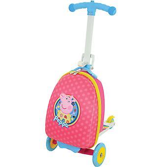 Peppa Pig scootin ' bőrönj