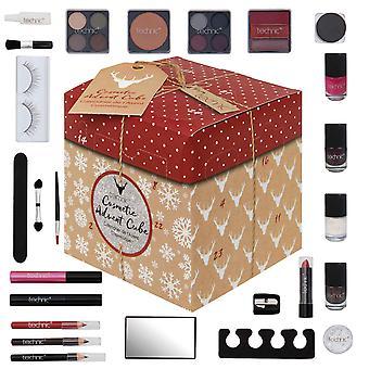 Technic Advent Christmas Cube Calendar Makeup Gift