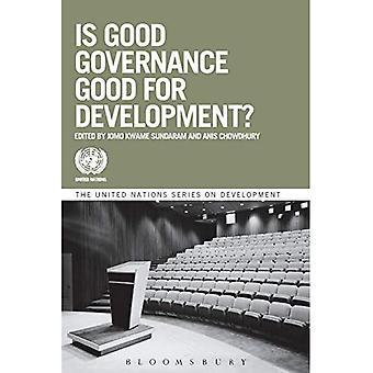 É bem boa governação para o desenvolvimento?