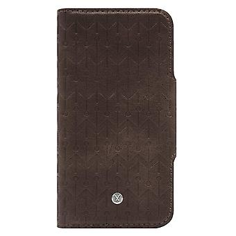 Marvêlle iPhone Xs Max Magnetic Case & Wallet Dark Brown Signature