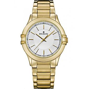 Delbana - Wristwatch - Ladies - Dress Collection - 42701.587.1.061 - Capri