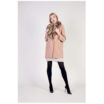 Fontana 2.0 - Clothing - Coat - FREDIANA_BEIGE - Women - burlywood - 44