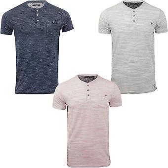 Brave Soul miesten Petrak lyhythihainen Buttoned rento tasku pikeepaita T-paita