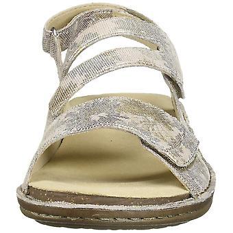 Aravon Women's Cambridge 3 Strap Wedge Sandal
