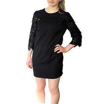Darling vrouwen ' s lace detail Leona jurk