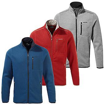 Craghoppers Mens Etna koko zip eristävä fleece takki
