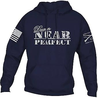 Grunt Style Damn Near Perfect Pullover Hoodie - Navy