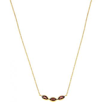Kira Dor necklace - Red Grenat