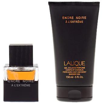 Caja de tinta negra - Agua de perfume y gel de ducha