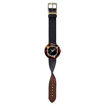 Ted Baker BKPKTF901 Women's Katyaa Black Strap Wristwatch