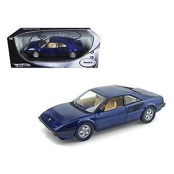 Ferrari Mondial 8 Blue 1/18 Diecast Model Car par Hotwheels
