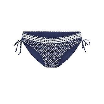LingaDore 5109B-17 Women's Serra Blue Print Bikini Bottom