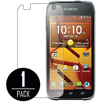 MPERO Collection Clear Screen Protector for Kyocera Hydro Icon