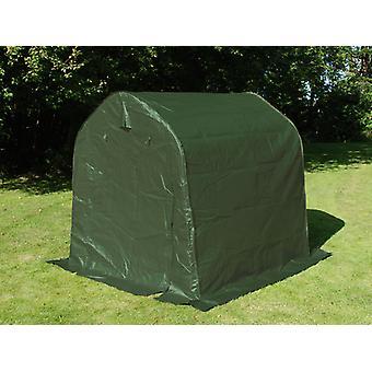 Tenda magazzino PRO 2x2x2m PE, Verde