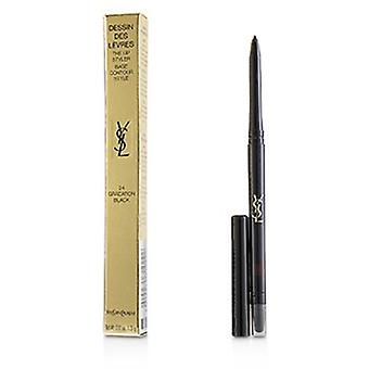 Yves Saint Laurent Dessin Des Levres Lip Styler - # 24 Gradation Musta 0.35g/0.01oz