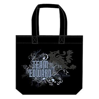 Twilight Saga New Moon Bag Tote (Team Edward Virvlar)