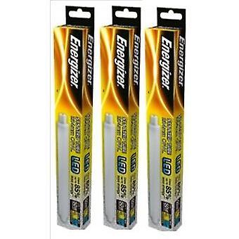 3 X Energizer LED Strip Energy Saving Lightbulb S15 5.5w = 50w 550lm Warm White[Energy Class A+]