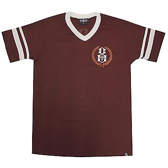 Rebel8 Laurels Jersey T-Shirt Burgundy